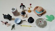 13 Miniatures Flower Shoe Penguin Dog Pan Hats Fish Soldier Dog-Free Ship