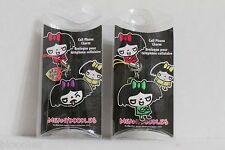 Meanydoodles Set of 2 Cell Phone Charms NEW Meany Doodles