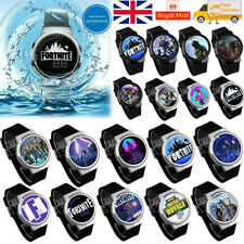 Fortnite Kids LED Touch Screen Watch with Silicone Strap Digital Waterproof Gift