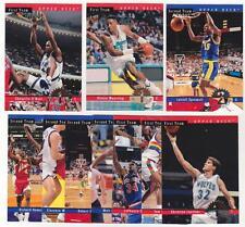 Lot of 8 1993-94 Upper Deck All-Rookie Team 10 Card Insert Sets Shaq + More