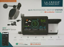 La Crosse Wi-Fi Professional Weather Station with AccuWeather Forecast