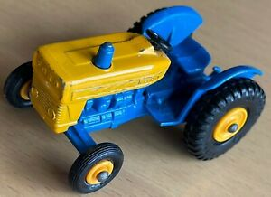 Matchbox Lesney No 39 Blue & Yellow Ford Tractor - Near Mint