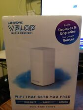 Linksys Velop Dual Band AC1200 Mesh WiFi System Router Replacement NEW