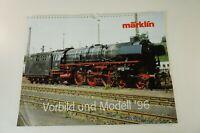 Märklin Eisenbahn Kalender 1996 Vorbild und Modell komplett  W-2041