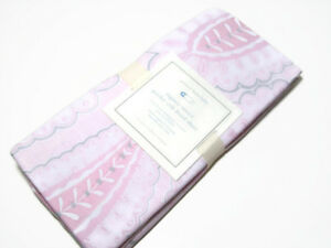 Pottery Barn Kids Multi Colors Sateen Paisley Baby Crib Toddler Fitted Sheet New