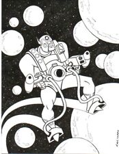 ANTHONY CACIOPPO~JACK KIRBY'S ORION PINUP~NEW ART! Comic Art