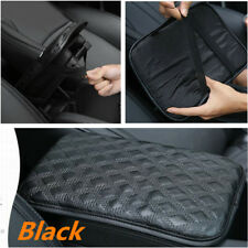 Leather Car Center Armrest Console Box Soft Pad Cover Cushion Durable Wear Mat