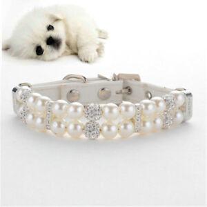 Jewelry Dog Necklace Pet Crystal Jewellery Cat Puppy Bling Rhinestone Dog Collar