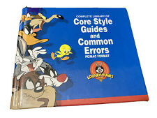 Looney Tunes Core Style Guides Rare Art Book - Int. Use For Ads/brands W/ Disc