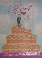 MURIEL'S WEDDING - HOGAN / CAKE / ABBA / AUSTRALIA - ORIGINAL LARGE MOVIE POSTER