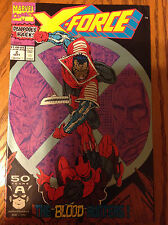 X-Force #2 - 1991 Series - 2nd Appearance of Deadpool