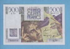 ( Ref: X.73) 500 FRANCS CHATEAUBRIAND 28/03/1946 (NEUF)  ETAT RARE