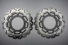 Paire disques frein avant wave 320mm pour Yamaha MT01 MT-01 1700 1670 2005-2006