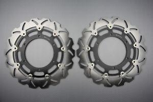 Paire disques frein avant wave 320mm pour Yamaha MT01 2007-2009