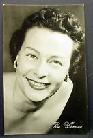 Ilse Werner - Actor Movie Photo Foto Autogramm-Karte AK (Lot-j-2644
