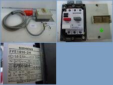 Motorschutzschalter Siemens 3VE1010-2H, 1,6-2,5 A, Alu-Gehäuse mit ca. 4m Kabel