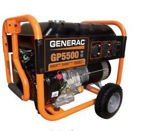 Generac GP5500 Gasoline Powered Portable Generator (Local Pickup. No Shipping)