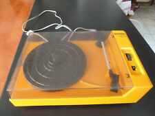 Tourne disque vintage typique année 70 - Schneider TR1502 fonctionne