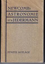 Astronomie für Jedermann 1920/Simon Newcomb/Physik, Weltall, Astronomie