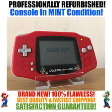 *NEW SCREEN* Nintendo Game Boy Advance GBA Mario Luigi Red System MINT NEW