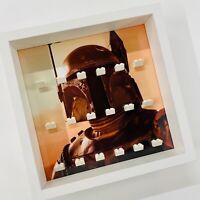 Display case Frame for Lego Star Wars minifigures Boba Fett no figures 27cm