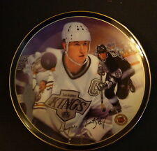 "Heroes On Ice The Great Gretzky Collectors 8"" Porcelain Plate Limited #3504D COA"