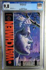 Watchmen #2 D.C. 1986 CGC 9.8 NM/MT White Pages Comic V0079