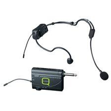 q-audio qwm 1900 HS UHF sans-fil Casque Microphone Micro Système (863-865 MHz)