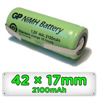 Toothbrush Replacement Battery for Braun Oral-B 42mm x 17mm Ni-MH Rechargeable