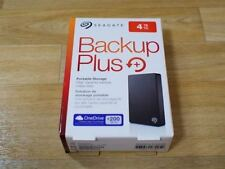"New 4TB Seagate Backup Plus Portable External H. Drive 2.5"" USB 3.0 STDR4000300"
