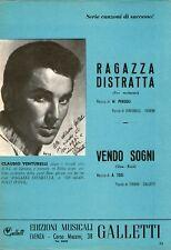 Claudio Venturelli - Ragazza distratta - 1961