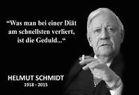 Helmut Schmidt Spruch 3 Blechschild Schild gewölbt Tin Sign 20 x 30 cm FA1185