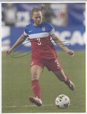 christie rampone signed 8x10 autographed 1999 2015 world cup gold champs proof