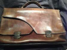 Berluti Brown Le Grand Ecritoire Briefcase