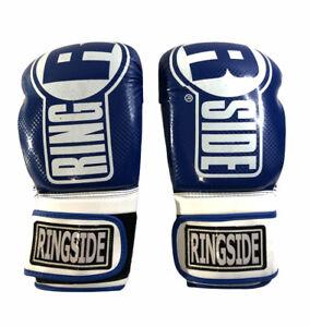 Ringside Apex FTG1 Boxing Gloves Blue White  L/XL The Best In Boxing