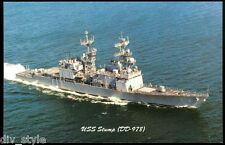 USS Stump DD-978 Destroyer Postcard US Navy warship (card #2)