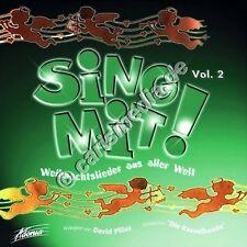 """CD: chante avec-chants de Noël du monde entier (choeur """"la bande Hochet"""")"""