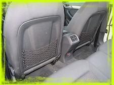 Coppia Tasche in rete portaoggetti per retro schienali sedili auto Audi Q3
