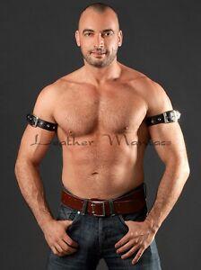 Leather Wrist Band Upper Arm Bracelet From Real Leather Bizepsband Upper Armband