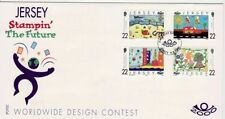 Fancy Cancel Space Great Britain First Day Covers (1971-Now)