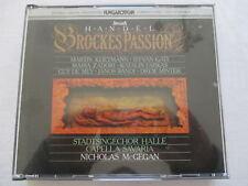 Handel: Brockes Passion - McGegan, Klietmann, Gati, Zadori - Sanyo Japan 2 CD