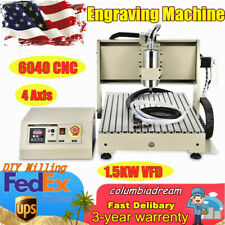 4axis 6040 Cnc Router Engraver Milling Drilling Machine Usb Engraver For Mach3
