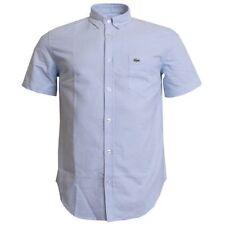 Camicie casual e maglie da uomo blu Lacoste