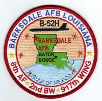 BARKSDALE AFB, LOUISIANA, 8TH AF, 2ND BW, 917TH WING       Y