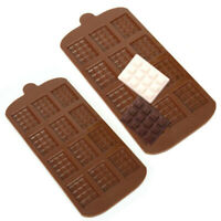 1 Pc Silicone Mini Chocolate Block Bar Mould Mold Ice Tray Cake Decorating Tool