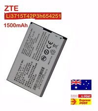 Li3715T42P3h654251 1500mAh battery for ZTE AC30 AC33 MF30 A6 MF60 MF61 U720
