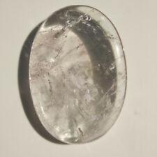 PIETRA PALMO massaggio cristalloterapia cristallo naturale QUARZO IALINO chakra
