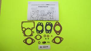 Tillotson Carburetor Repair Kit Carb JR2 JR4 JR6 Chrysler DeSoto Dodge Chev IHC