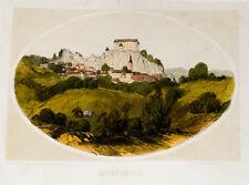 c1865 Slowenien Slovenija Montpreis Planina pri Sevnic Lithographie Reichert