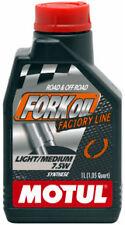 MOTUL FORK OIL OLIO FORCELLE LIGHT MEDIUM 7,5W FACTORY LINE SINTETICO TRIUMPH
